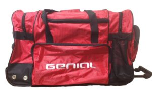 Clyton 3 Compartment bag in Red