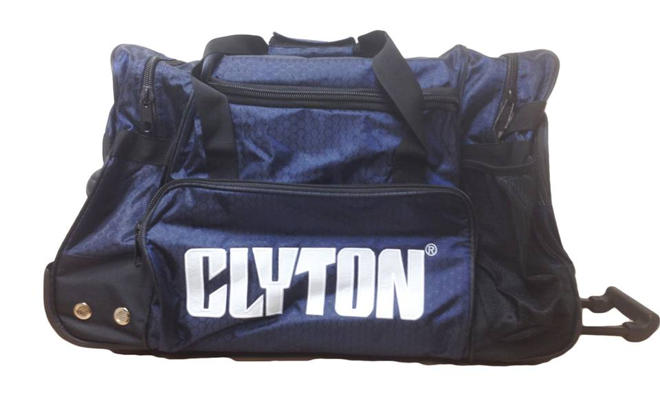 Clyton 3 Compartment Royal Blue Kit Bag