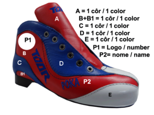 Toor Boot  Customisation Options