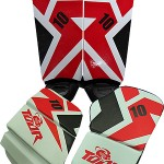 Slide Leg Pads Red 10