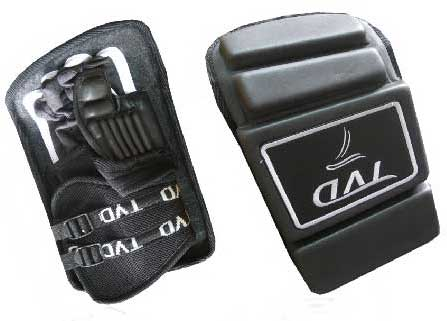 Power II Black Goalkeeper Gloves