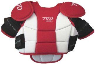 TVD Samurai Chestpad Red & White