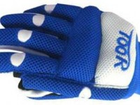 Toor Line Air Blue White Gloves
