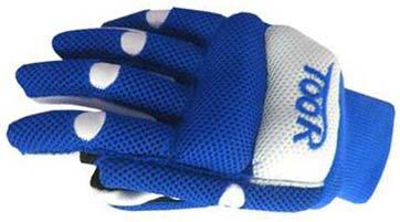 Toor Line Air Blue White Gloves
