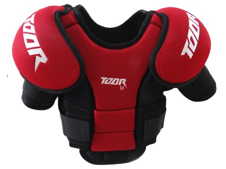 Toor Goalkeeper Chest Pad Red