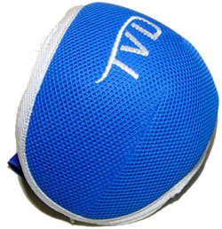 Blue & White Spider Kneepad