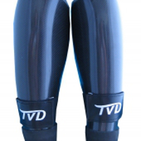 Carbon Style Shin Guards