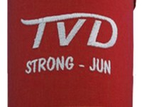 TVD Strong Shin Guard Red