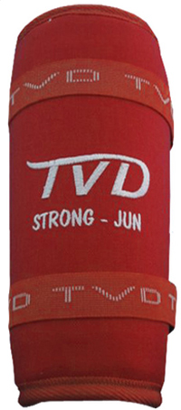 TVD Strong Shin Guard Red