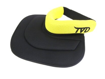 TVD Upper Chest Throat Protector Yellow