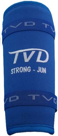 TVD Strong Shin Guard Blue